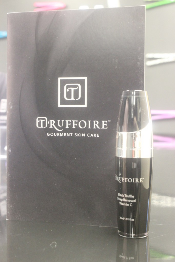 Truffoire brochure and Black Truffle Deep Renewal Vitamin C