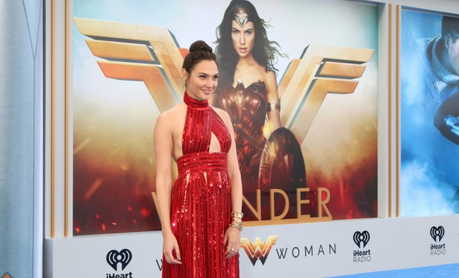 Gal Gadot at Wonder Woman premiere