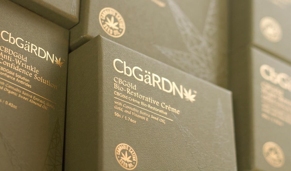 CbGaRDN box packaging