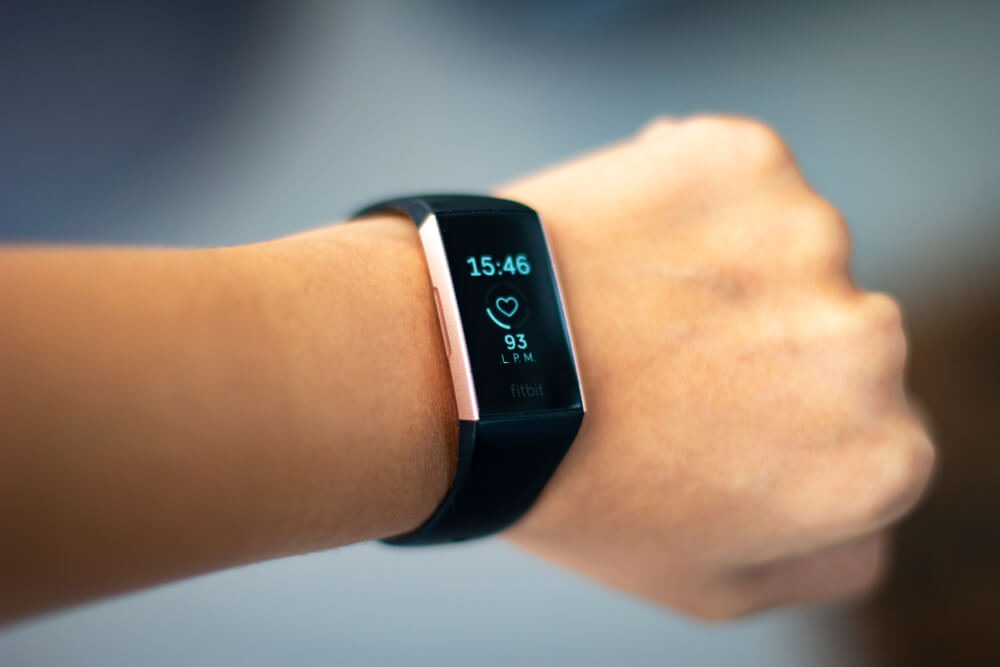 Wrist with smart watch