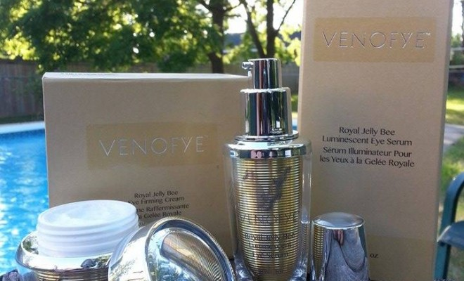 Venofye's Royal Jelly Bee Luminescent Eye Serum and Royal Jelly Bee Eye Firming Cream